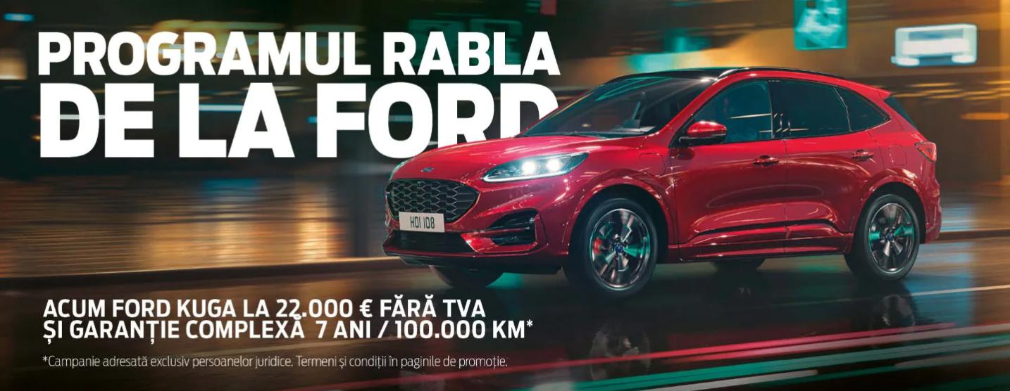 Oferta Speciala Ford Kuga