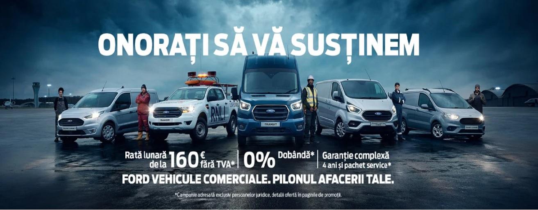 Oferta vehicule comerciale adresata persoanelor juridice