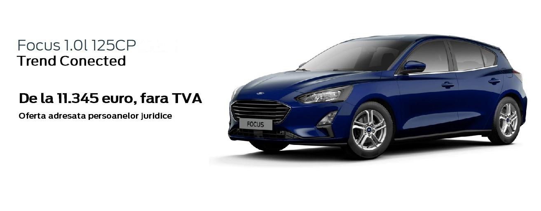 Ford Focus, autoturismul pentru afacerea ta!